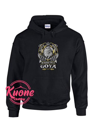 Goya Hoodie For Women's Or Men's