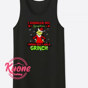Grinch Tank Top For Women's or Men's