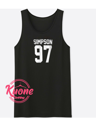 Simpson Tank Top For Women's or Men's