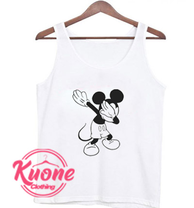 Mickey Mouse Dabbing Tank Top